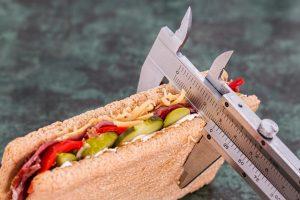 meranie jedla